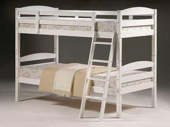 METALBEDS MODERNA BUNKSET  - Available in White (Sizes 3ft only)... PLEASE CALL US NOW FOR DETAILS & PRICES