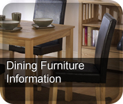 Dining Room Furniture Information Page