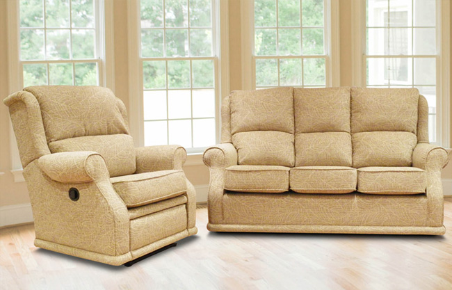 BUOYANT PARK LANE 3 SEATER & RECLINER ...PLEASE CALL US NOW FOR DETAILS AND PRICES